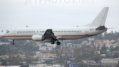 N416BC - Boeing 737-4Q8 - Private