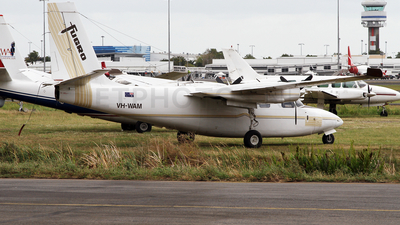 VH-WAM - Aero Commander 500S - Fugro Airborne Surveys