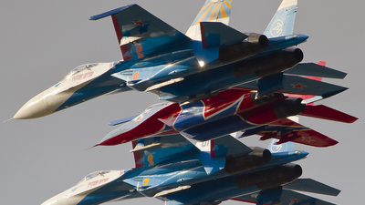 18 - Sukhoi Su-27UB Flanker C - Russia - Air Force