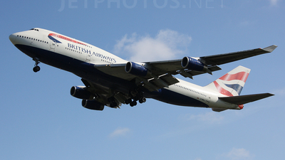 G-BNLL - Boeing 747-436 - British Airways