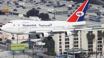 7O-YMN - Boeing 747SP-27 - Yemenia - Yemen Airways
