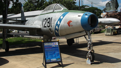KH16 /1231 / 878 - Republic F-84G Thunderjet - Thailand - Royal Thai Air Force