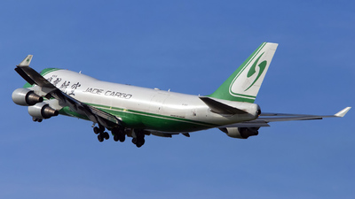 B-2421 - Boeing 747-4EVERF - Jade Cargo International