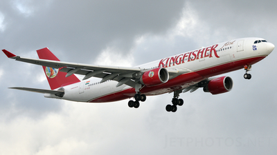 VT-VJO - Airbus A330-223 - Kingfisher Airlines