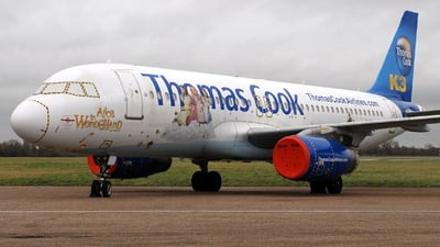 N400CT - Airbus A320-232 - Thomas Cook Airlines