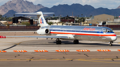 N553AA - McDonnell Douglas MD-82 - American Airlines