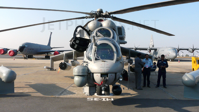Z-3140 - Mil Mi-35M Hind - India - Air Force