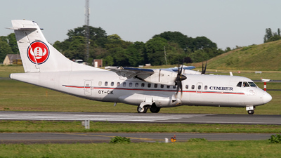 OY-CIK - ATR 42-500 - Cimber Sterling Airlines