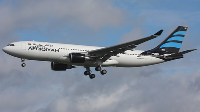 F-WWYK - Airbus A330-202 - Afriqiyah Airways