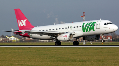 LZ-MDM - Airbus A320-232 - Air Via