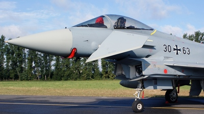 30-63 - Eurofighter Typhoon EF2000 - Germany - Air Force