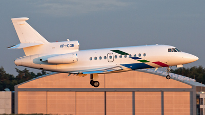 VP-CGB - Dassault Falcon 900B - VW Air Services