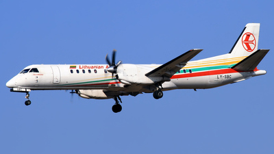 LY-SBC - Saab 2000 - Lithuanian Airlines