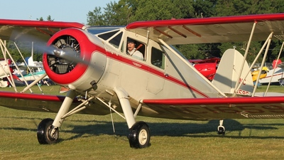 N16598 - Waco YKS-6 - Private