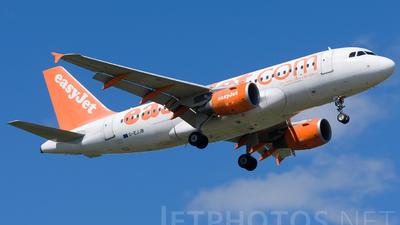 G-EJJB - Airbus A319-111 - easyJet