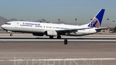 N39423 - Boeing 737-924ER - Continental Airlines