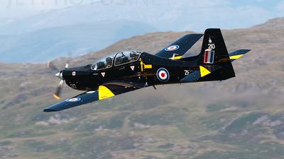 ZF210 - Short Tucano T.1 - United Kingdom - Royal Air Force (RAF)