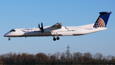 N338NG - Bombardier Dash 8-Q402 - United Express (Colgan Air)
