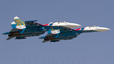 10 - Sukhoi Su-27SM3 Flanker B - Russia - Air Force