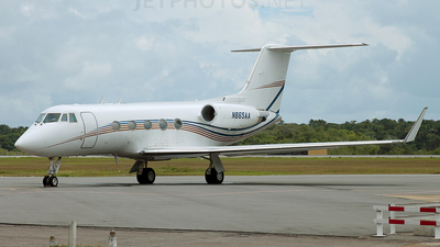 A picture of N865AA - Gulfstream II - [048] - © Andrew Muller