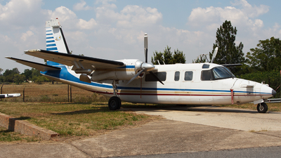 ZS-JRB - Aero Commander 690A - South Africa - Weather Service