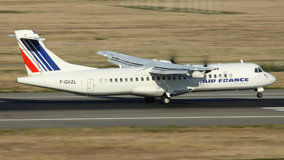 F-GVZL - ATR 72-212A(500) - Air France (Airlinair)