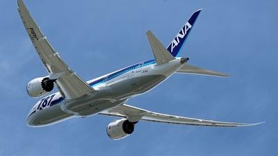 JA811A - Boeing 787-8 Dreamliner - All Nippon Airways (ANA)