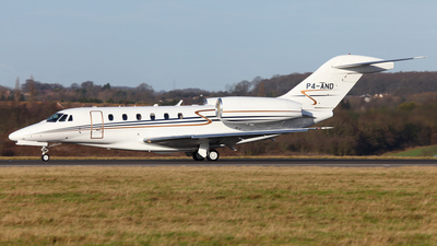 P4-AND - Cessna 750 Citation X - Avangard Aviation