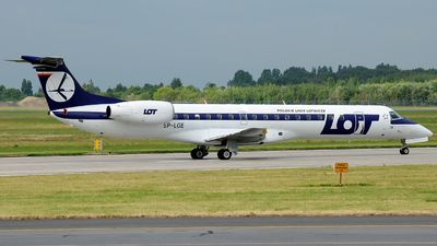 SP-LGE - Embraer ERJ-145LR - LOT Polish Airlines