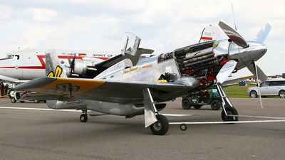 N6WJ - North American P-51XR Mustang - Private
