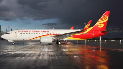 D-ABMJ - Boeing 737-86J - Hainan Airlines