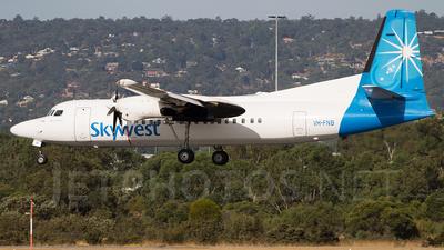 A picture of VHFNB - Fokker 50 - [20107] - © Lachlan Gatland