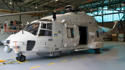 N-195 - NH Industries NH-90NFH - Netherlands - Navy