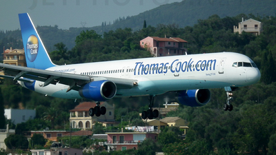G-JMAA - Boeing 757-3CQ - Thomas Cook Airlines