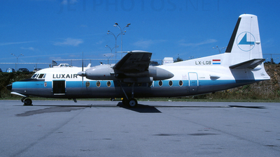 LX-LGB - Fokker F27-100 Friendship - Luxair - Luxembourg Airlines