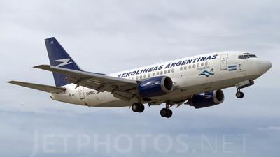 LV-BIX - Boeing 737-53A - Aerolíneas Argentinas
