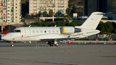 OH-GVI - Bombardier CL-600-2B16 Challenger 605 - Jetflite Oy