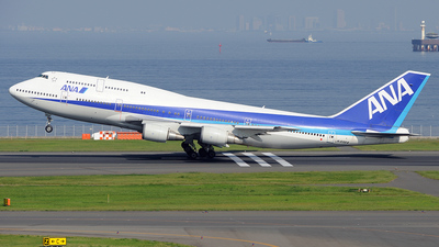 JA8964 - Boeing 747-481D - All Nippon Airways (ANA)