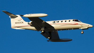 N143CK - Gates Learjet 25B - Private