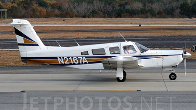 A picture of N2167A - Piper PA32RT300 - [32R7985004] - © Agustin Anaya