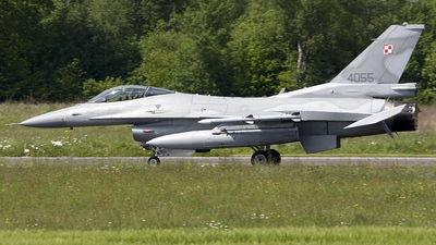 4055 - Lockheed Martin F-16C Fighting Falcon - Poland - Air Force