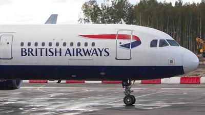 G-EUXL - Airbus A321-231 - British Airways