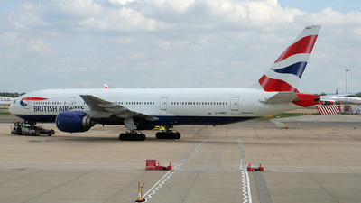 G-YMMS - Boeing 777-236(ER) - British Airways