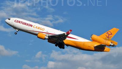 N986AR - McDonnell Douglas MD-11(F) - Centurion Air Cargo