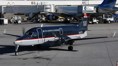 N143YV - Beech 1900D - US Airways Express (Mesa Airlines)