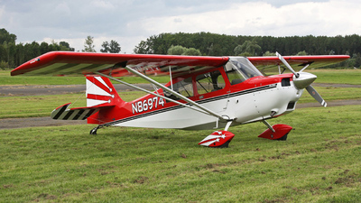 A picture of N86974 - Bellanca 8KCAB - [14574] - © Stefan De Sutter