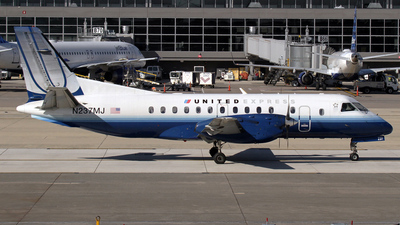 N237MJ - Saab 340B - United Express (Colgan Air)