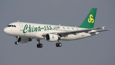 F-WWDP - Airbus A320-214 - Spring Airlines