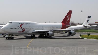 C5-SAM - Boeing 747-338 - Iran Air