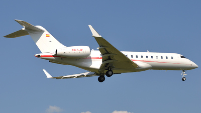 EC-LJP - Bombardier BD-700-1A10 Global Express XRS - Private